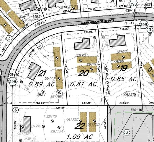 Lot 19 Alden Ct, Lowell, MI 49331 (MLS #21018085) :: BlueWest Properties