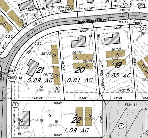Lot 21 Alden Ct, Lowell, MI 49331 (MLS #21018088) :: BlueWest Properties