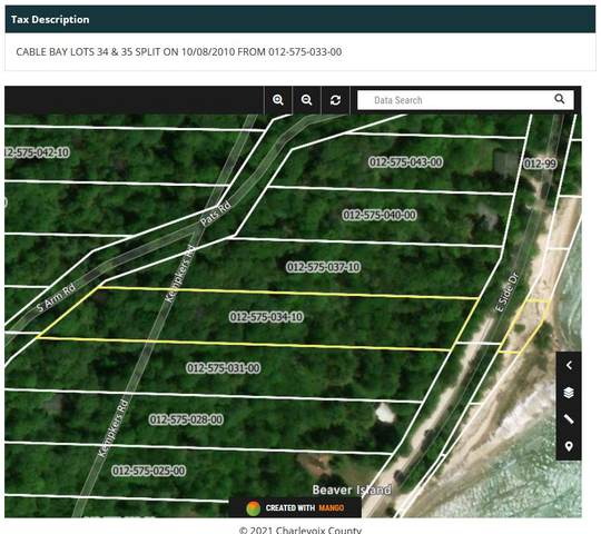 TBD East Side Drive Cable Bay Lot 3, Beaver Island, MI 49782 (MLS #21018220) :: Sold by Stevo Team | @Home Realty