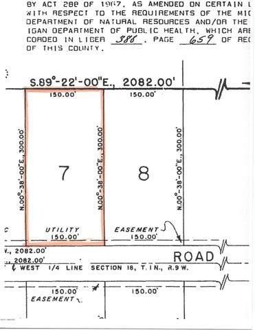 Parcel 7 Osborne Road, Delton, MI 49046 (MLS #21020557) :: Sold by Stevo Team | @Home Realty