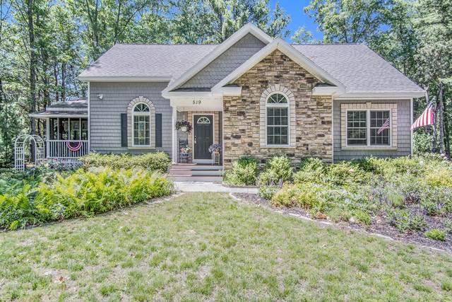519 N Morris Street, Pentwater, MI 49449 (MLS #21023264) :: BlueWest Properties