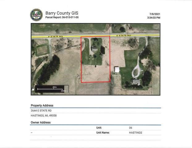 2644 E State Road, Hastings, MI 49058 (MLS #21027047) :: Deb Stevenson Group - Greenridge Realty