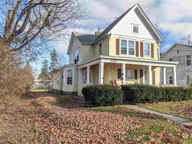 137 Park St, Adrian, MI 49221 (MLS #21034535) :: BlueWest Properties