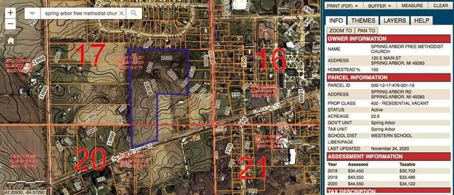 VL Spring Arbor Rd Parcel 1, Spring Arbor, MI 49283 (MLS #21036850) :: BlueWest Properties