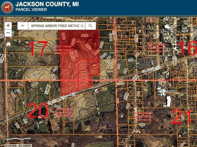VL Spring Arbor Rd Parcel 3, Spring Arbor, MI 49283 (MLS #21037001) :: The Hatfield Group