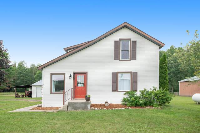7549 Johnson Road, Lakeview, MI 48850 (MLS #21097074) :: JH Realty Partners