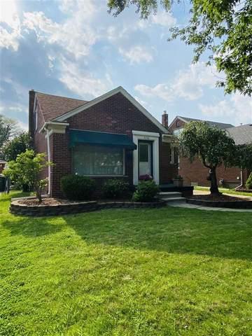 9706 Sterling Avenue, Allen Park, MI 48101 (MLS #21097510) :: BlueWest Properties