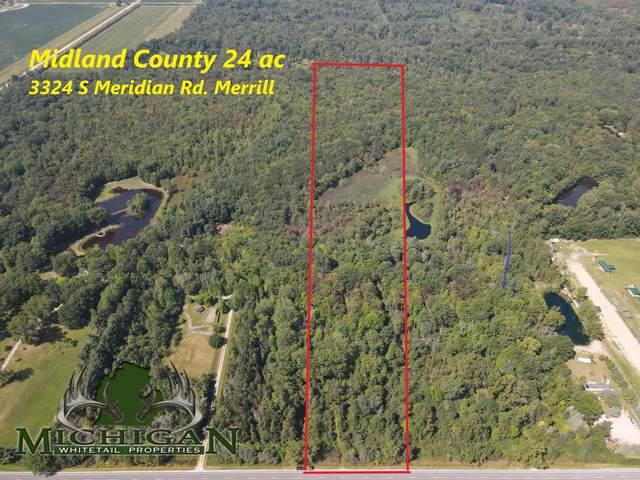 3324 S Meridian Road, Merrill, MI 48637 (MLS #21101711) :: CENTURY 21 C. Howard