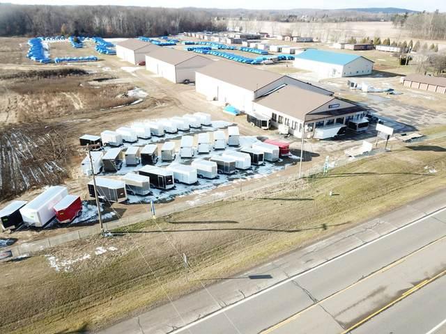 9416 S Meridian Road Road, Clark Lake, MI 49234 (MLS #21105770) :: The Hatfield Group