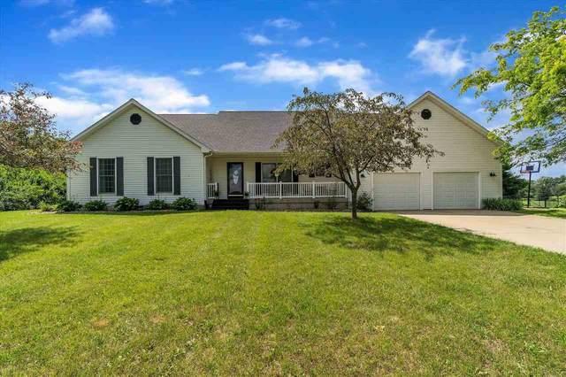 10464 Hankerd Road, Pleasant Lake, MI 49272 (MLS #21109449) :: Sold by Stevo Team | @Home Realty