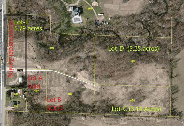 1484-Lot C NW Yost Parkway NW, Sparta, MI 49345 (MLS #21111432) :: The Hatfield Group