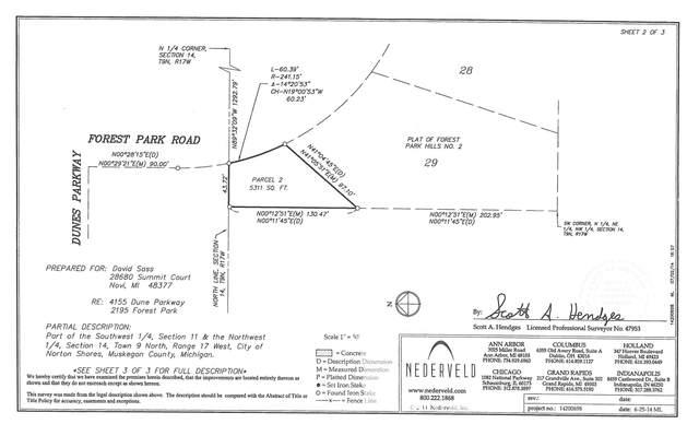 2195 Forest Park Road, Norton Shores, MI 49441 (MLS #21111881) :: Keller Williams Realty   Kalamazoo Market Center