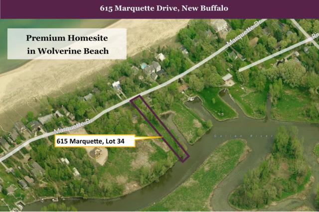 615 Marquette Drive, New Buffalo, MI 49117 (MLS #19015588) :: Matt Mulder Home Selling Team