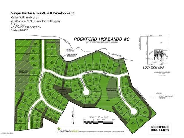 194 Dogwood Dr Lot 219, Rockford, MI 49341 (MLS #19049708) :: CENTURY 21 C. Howard