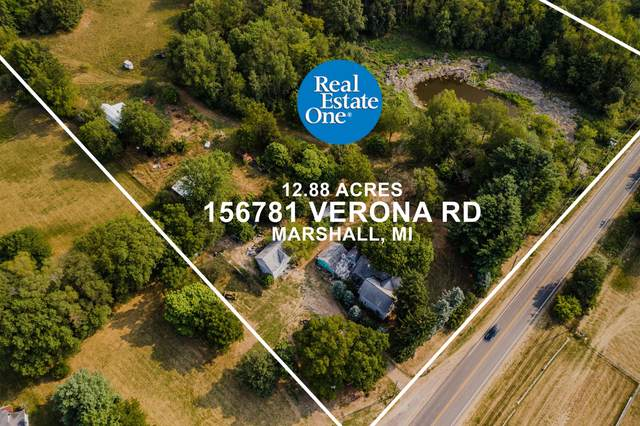 15781 Verona Road, Marshall, MI 49068 (MLS #20037063) :: JH Realty Partners