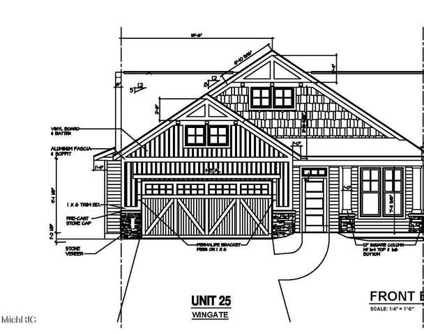 5584 Albright Avenue SW #25, Wyoming, MI 49418 (MLS #21005466) :: JH Realty Partners