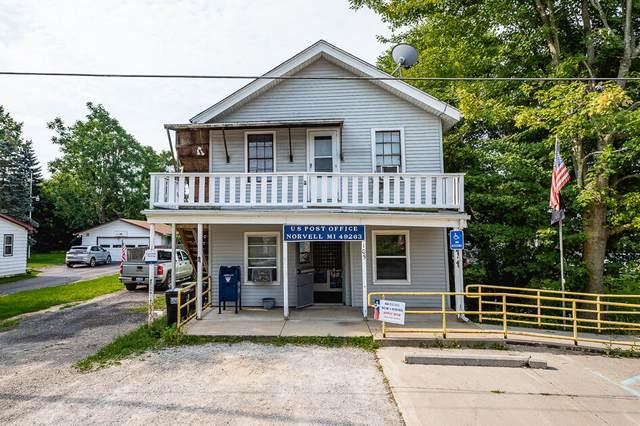 105 E Commercial, Norvell, MI 49230 (MLS #21034328) :: CENTURY 21 C. Howard