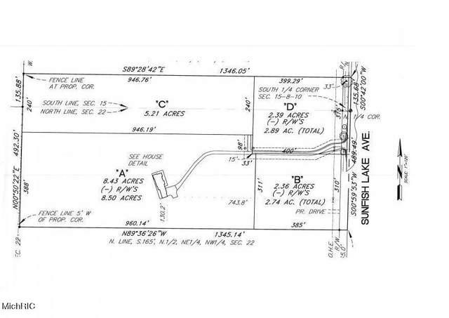 5961 Sunfish Lake Avenue NE Parcel B, Rockford, MI 49341 (MLS #21003640) :: Ginger Baxter Group