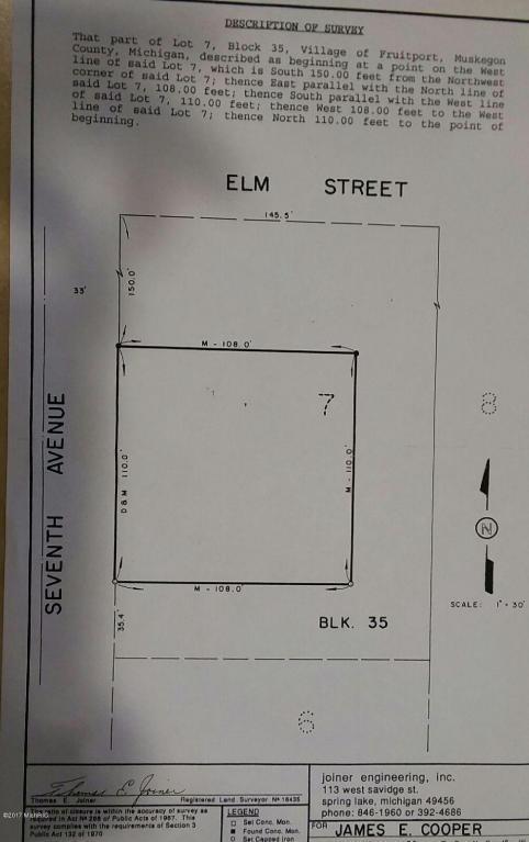 0 Peach Street, Fruitport, MI 49415 (MLS #17010620) :: 42 North Realty Group