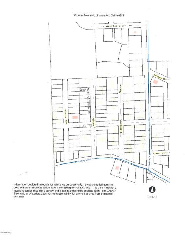 v/l Perkins St Parcel C, Waterford, MI 48329 (MLS #17037580) :: Carlson Realtors & Development