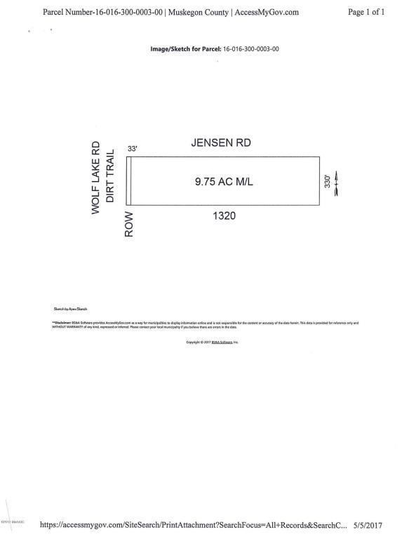 0 Jensen Road, Fruitport, MI 49415 (MLS #17049203) :: JH Realty Partners