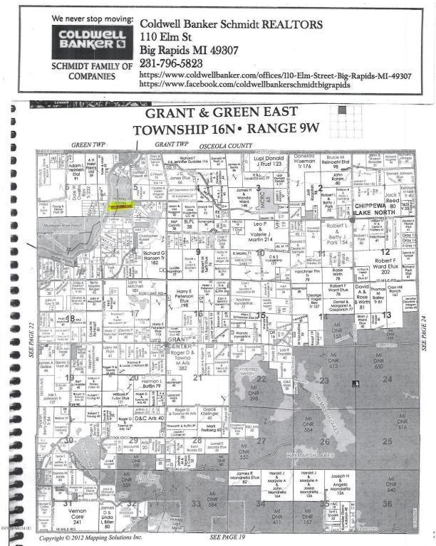 23165 Holiday Drive, Hersey, MI 49639 (MLS #18000876) :: Carlson Realtors & Development