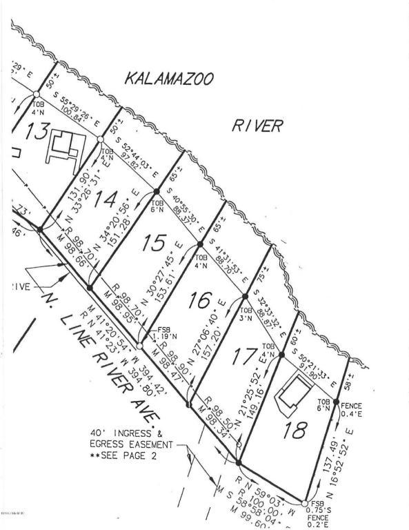 0 - 17 Riverbend Trail, Fennville, MI 49408 (MLS #18020026) :: 42 North Realty Group