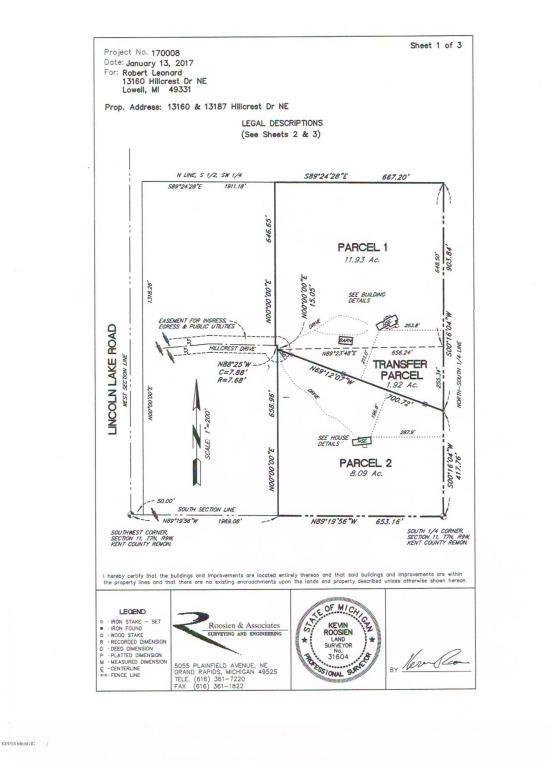 13187 Hillcrest Drive NE, Lowell, MI 49331 (MLS #18027505) :: 42 North Realty Group