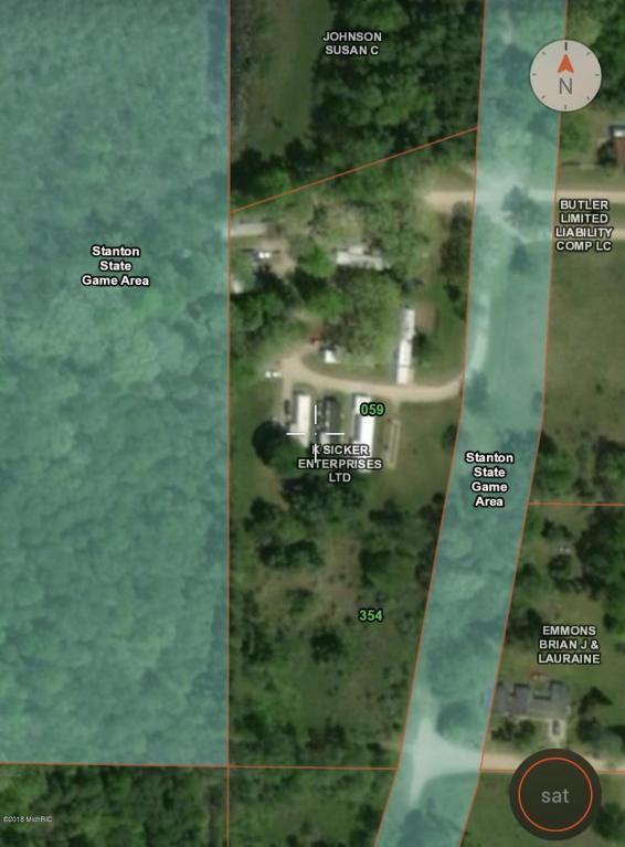 2650 Stoney Lake Boulevard, Stanton, MI 48888 (MLS #18029485) :: 42 North Realty Group
