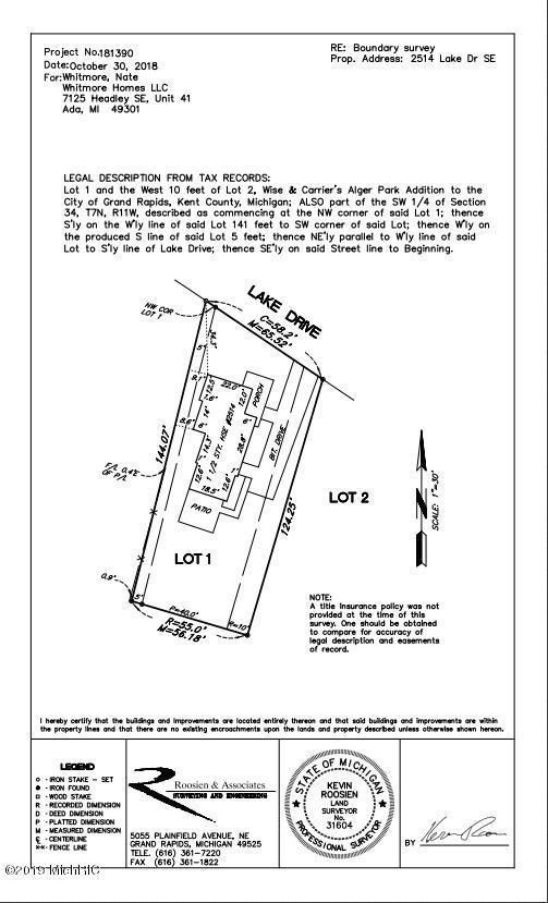 2514 Lake Drive SE, East Grand Rapids, MI 49506 (MLS #19014682) :: Matt Mulder Home Selling Team