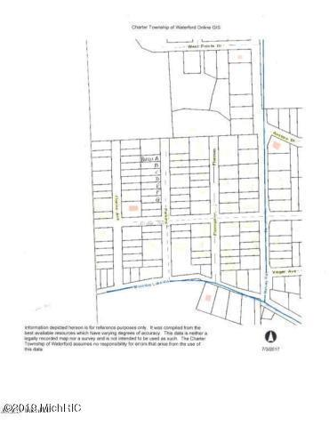 Perkins St- 7 Vacant Lots, Waterford, MI 48329 (MLS #19015007) :: CENTURY 21 C. Howard