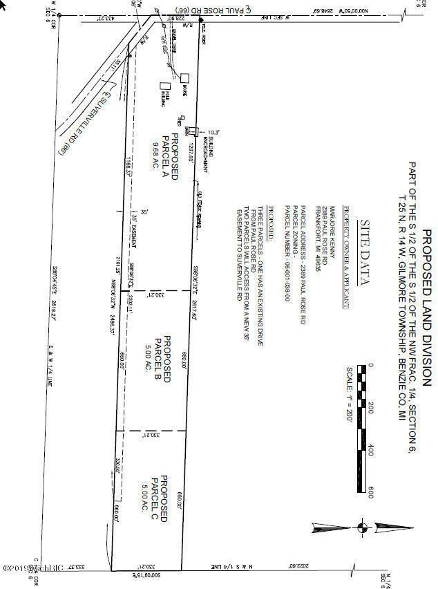 Paul Rose Rd C, Frankfort, MI 49635 (MLS #19026652) :: Deb Stevenson Group - Greenridge Realty