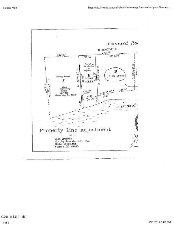 Lot D Leonard Road, Coopersville, MI 49404 (MLS #19030559) :: JH Realty Partners