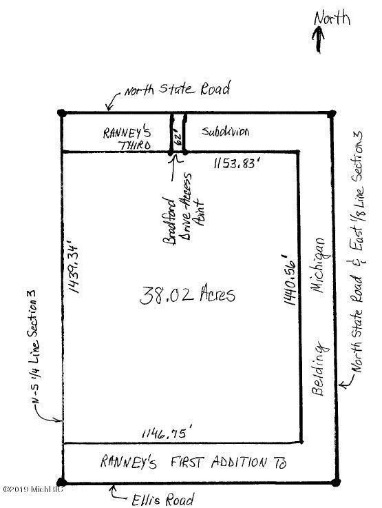 0 N State Road, Belding, MI 48809 (MLS #19031416) :: Deb Stevenson Group - Greenridge Realty