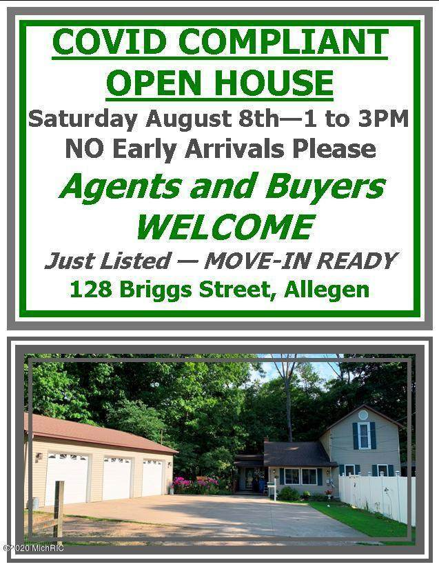 128 Briggs Street, Allegan, MI 49010 (MLS #20031539) :: Jennifer Lane-Alwan