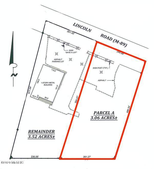 1236 Lincoln Road 3.06 Acres, Allegan, MI 49010 (MLS #21000123) :: Deb Stevenson Group - Greenridge Realty