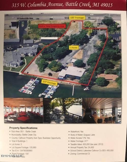 315 W Columbia Avenue, Battle Creek, MI 49015 (MLS #21004069) :: Keller Williams Realty | Kalamazoo Market Center
