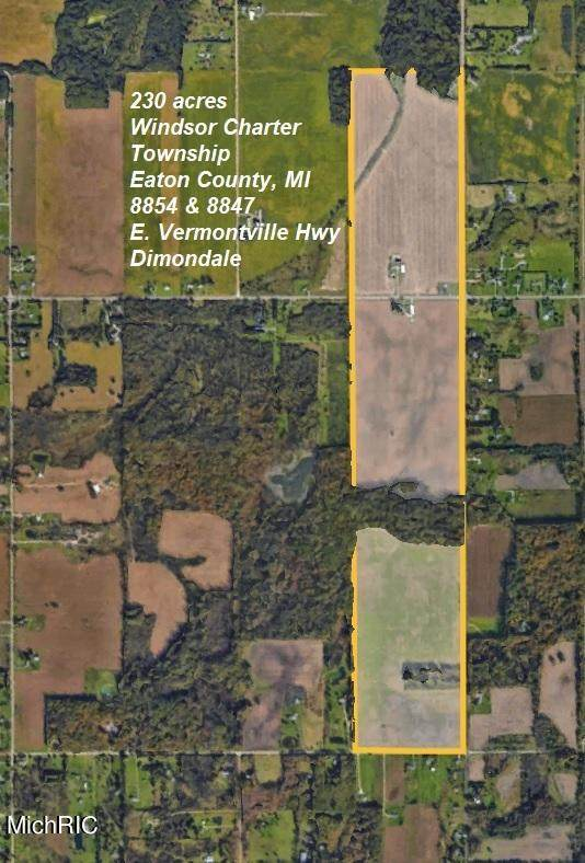 8854 E Vermontville Highway, Dimondale, MI 48821 (MLS #21012455) :: JH Realty Partners