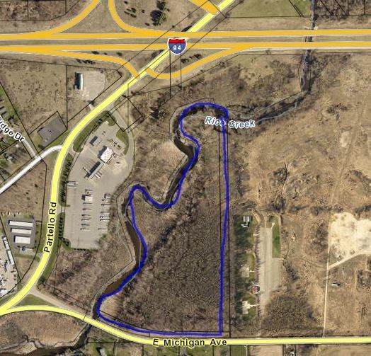 V/L #2 Michigan Ave, Marshall, MI 49068 (MLS #21036942) :: Deb Stevenson Group - Greenridge Realty
