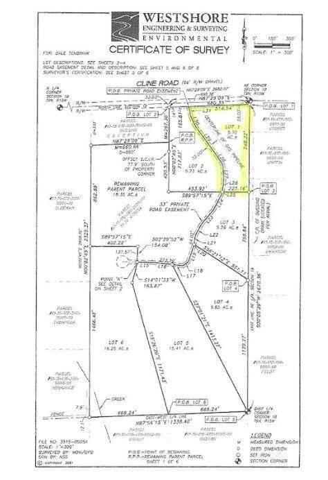 Lot 1 Cline Road, Fruitport, MI 49415 (MLS #21103417) :: Deb Stevenson Group - Greenridge Realty