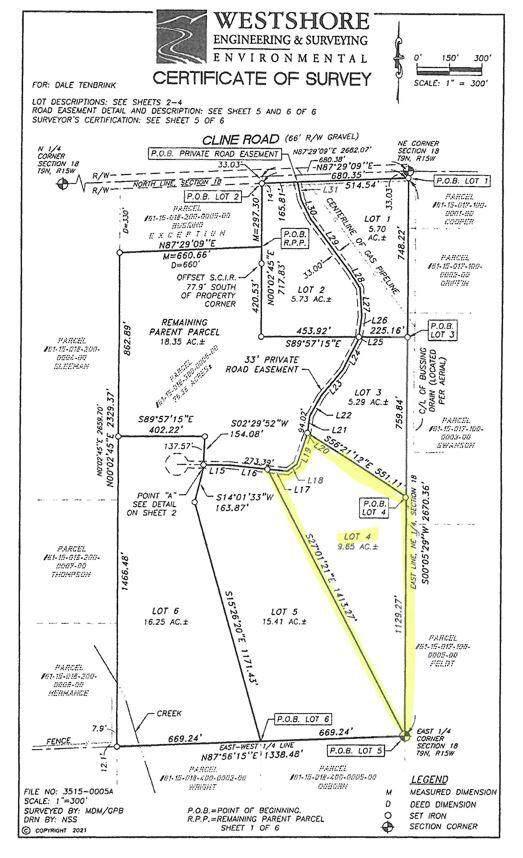 Lot 4 Cloverdale Drive, Fruitport, MI 49415 (MLS #21103420) :: Deb Stevenson Group - Greenridge Realty