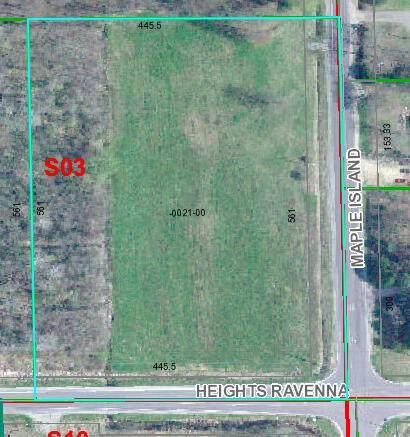 0 Heights Ravenna Road, Ravenna, MI 49451 (MLS #21105390) :: Sold by Stevo Team | @Home Realty