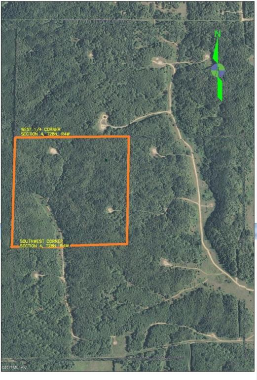 V/L-Parcel 2 Twin Peaks Road, Frederic, MI 49733 (MLS #17018398) :: 42 North Realty Group