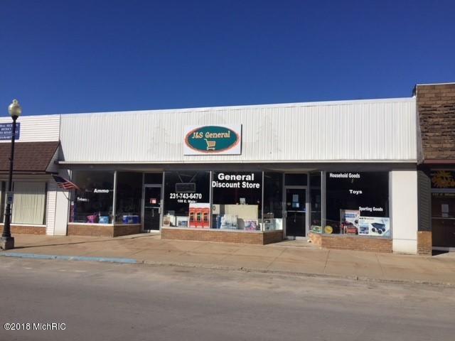109 E Main Street, Marion, MI 49665 (MLS #18010274) :: Deb Stevenson Group - Greenridge Realty