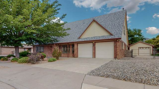 1408 Hiawatha Street NE, Albuquerque, NM 87112 (MLS #1000363) :: The Buchman Group