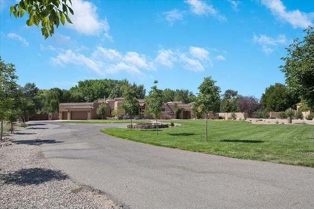 4608 Los Poblanos Circle NW, Los Ranchos, NM 87107 (MLS #1000500) :: HergGroup Albuquerque