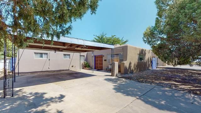 4413 Delamar Avenue NE, Albuquerque, NM 87110 (MLS #1000666) :: Keller Williams Realty