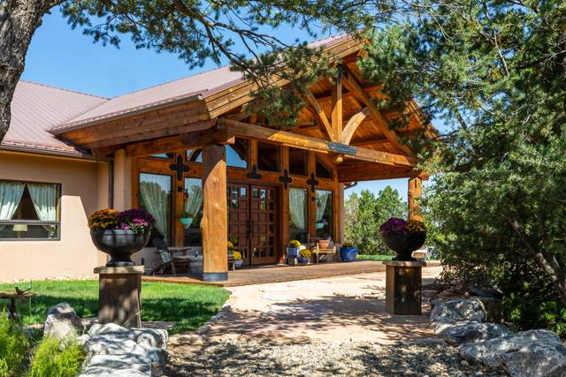 71 Nature Pointe Drive, Tijeras, NM 87059 (MLS #1000824) :: Campbell & Campbell Real Estate Services