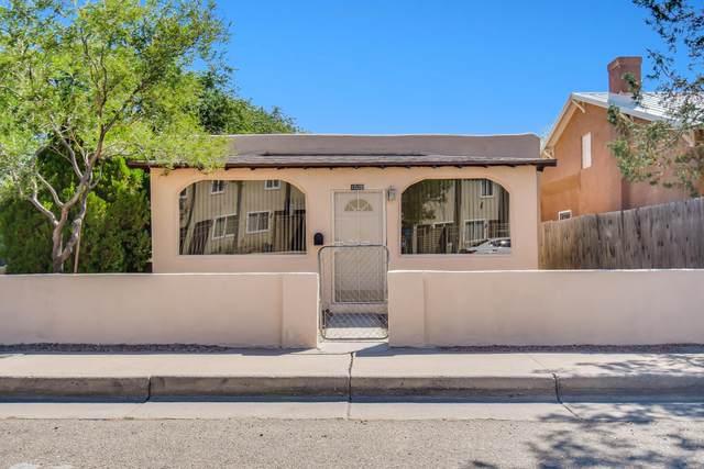 1520 8TH Street NW, Albuquerque, NM 87102 (MLS #1000858) :: The Buchman Group