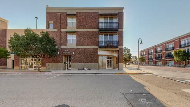 401 Central Avenue NE #305, Albuquerque, NM 87102 (MLS #1001013) :: The Shear Team